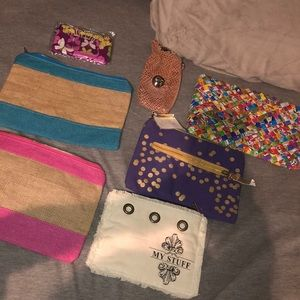 Accessories - set of seven make up bags